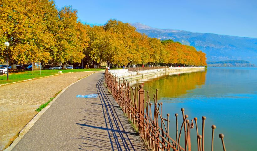 Ioannina Greece lake Pamvotis